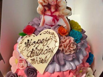 本日のご予約のケーキです。
