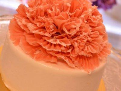 母の日限定カーネーションケーキ