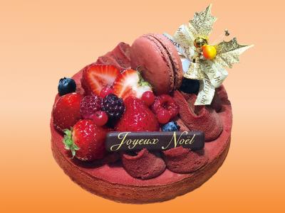 Tarte Chocolat Framboise -タルト・ショコラ・フランボワーズ-